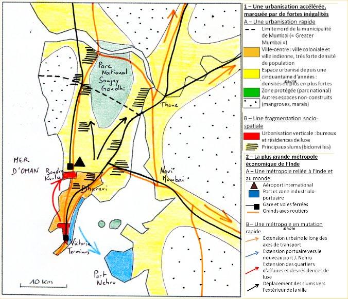 MUMBAI, modernité et inégalités   Histoire Géographie